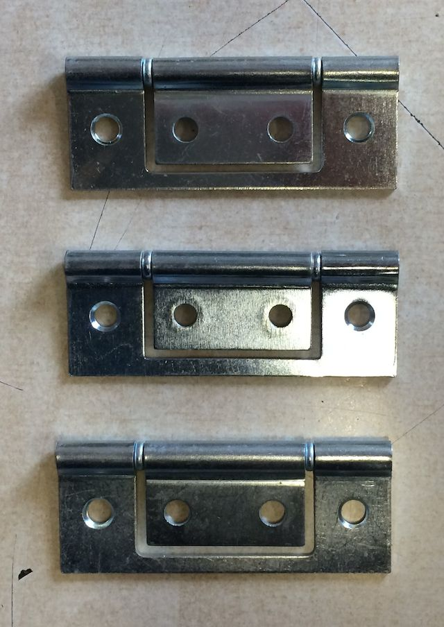 Bi Fold Door Hinge Pack (Chrome)