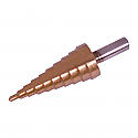 4 - 22 mm Titanium-Coated Step Drill  - each
