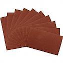 Silverline 10PK Aluminium Oxide Handsheets 230 x 280mm 60 Grit x10 - Each