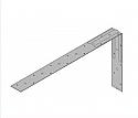 PFS Strap 1200mm Inc 100mm Bend -  Each
