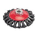 Silverline Twist Knot Brush (100mm) - Each