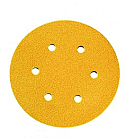 150mm Dia. Velcro Sanding Discs P120 - Pack of 10