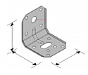 50 X 50mm angle bracket c/w screw hole -  Each