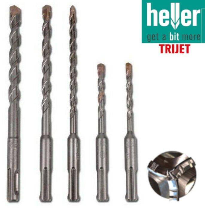 Trijet SDS + Hammer Drill Bits