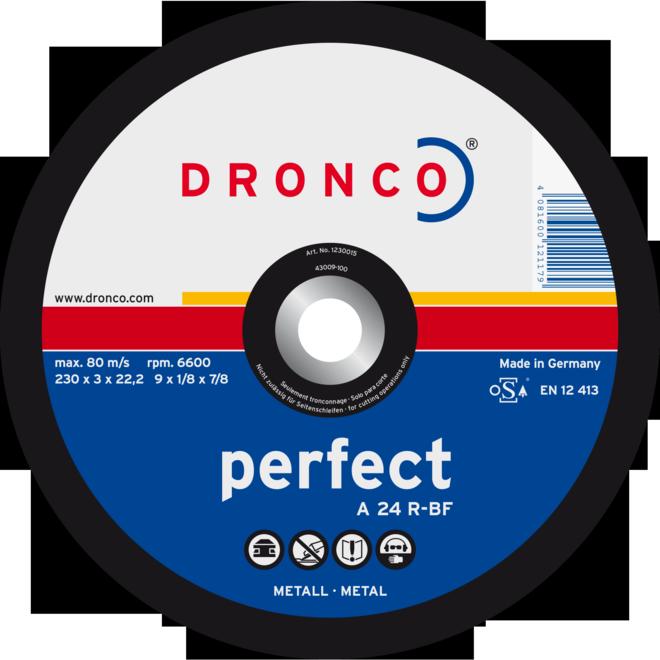 300 X 3.5 X 22mm Metal Cutting Disc Flat 22mm Bore Each
