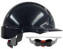 EVO3 Revolution Wheel Ratchet Black Vented Safety Helmet each