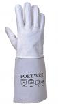 Premium Tig Welding Gauntlet Grey Large per Box of 10
