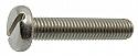M2 X 20 Slotted Pan Head DIN 85 Machine Screw BZP per Box of 500