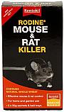 Rentokil PSR96 Rodine Mouse/Rat Killer 150g (3 x 50g Sachets) with Trays per Box of 3