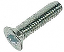 M8 x 30 CSK Taptite style Thread forming screwn BZP per Box of 1000