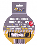 Everbuild Mammoth Double Sided Mounting Tape 25mm x 5m White per Box of 10