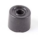 30mm Black Rubber Round Door Stop per Box of 100