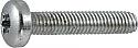 M8 x 20 Pan Torx Taptite thread forming screws BZP per Box of 250