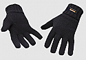 Portwest GL13 Knit Glove Insulatex Lined One Size Black per Box of 10