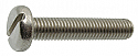 M2.5 X 10mm Slotted Pan Head DIN 85 Machine Screw A2SS per Box of 5000