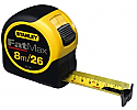 Stanley Fat Max 8m metric tape measure each