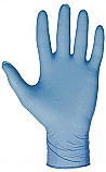 Blue Powder-Free Size 9 Large Heavy Duty Nitrile Gloves each