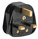 Defender 13A Rubberised Nylon Plug 240V per Box of 10