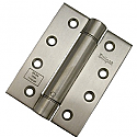 4in 102mm x 76mm x 3mm Spring Action Hinge SSS 2 hinges per Box of 5
