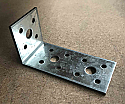 H40mm x L90mm x W45mm x 2.5mm thick Heavy Duty 15 Hole Angle Bracket per Box of 25