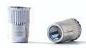 M6 x 15mm Reduced CSK Head Knurled Body Rivet Nut BZP per Box of 100
