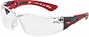 Bolle Rush style clear anti scratch and fog per Box of 4