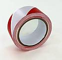 50mm x 33m Red & white adhesive warning tape per 5 rolls
