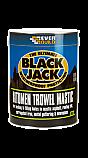 Black Jack Bitumen Trowel Mastic - 5 litre