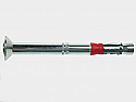 10mm x 70mm Heavy Duty Anchor Countersunk BZP per Box of 50