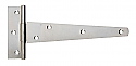 150mm Tee Hinges BZP - Box of 4
