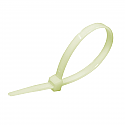2.5mm x 100mm Cable Ties Natural - pack of 1000 (10 bags)