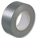 75mm x 50m roll Silver GAFFA Gaffer Tape per Box of 5