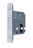 Hoppe ARRONE AR8005 63mm Satin Chrome Oval Profile Deadlock Case only each