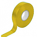 19mm x 20m Electricians tape (Yellow) per Box of 10