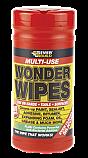 Wonder Wipes Trade Tub 100 per Box of 6
