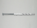 10mm x 120mm Countersunk Nylon Frame Fixing ETA  - Box of 50