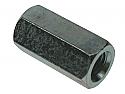 M8 x 24 Studding Connectors BZP - box of 100