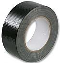 50mm x 50m Black Gaffa Tape per Box of 5