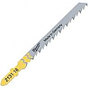 Milwaukee Wood Fast Cut 5pcs Jigsaw Blades 75 x 4mm T144D -  each