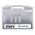 HMT CarbideMax 40 TCT Cutter Set 14,18,22mm + 2 pilots each
