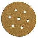 150mm Self Adhesive Paper Tabbed Sanding Disc P120 - Pack of 20