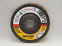 115mm Zirconium GAZA Tapered Dronco Flap discs P120 grit per Box of 10