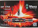 Wera Impaktor Diamond PZ2 impact driver bit WER057621 per Box of 3