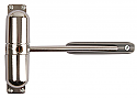 Surface Mounted Safety Door Closer Polished Chrome each
