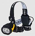 Portwest Dual Power Head Light Regular Yellow Black each