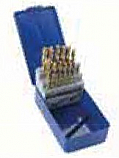 28 piece Cobalt drill & Tap set M3 - M12 Drill, 1st, 2nd and 3rd Tap each
