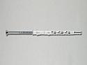 10mm x 160mm Countersunk Nylon Frame Fixing ETA  - Box of 50