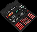 Wera Kraftform Kompakt W1 Maintenance 35 piece Tool Set each