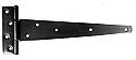 150mm Tee Hinges Black - Box of 4