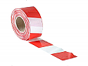 70mm x 500m Red & white bunting tape (non adhesive) per 5 rolls